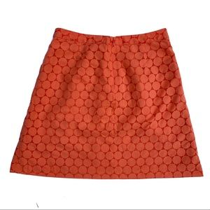 The Limited Skirts - The Limited pleated Polka dot overlay skirt